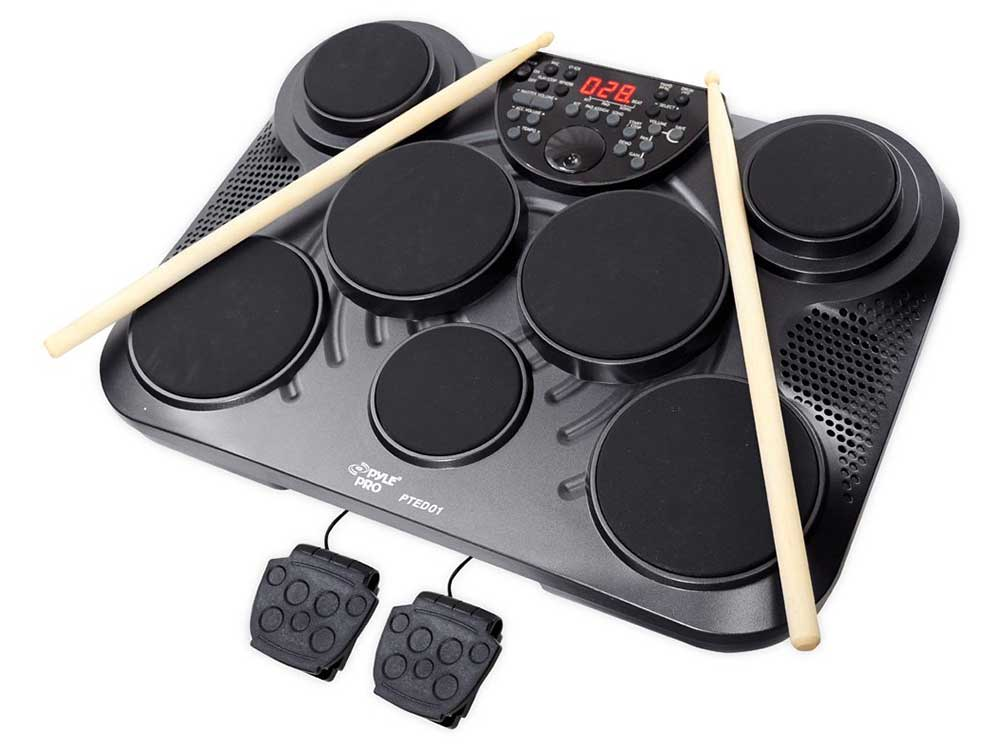 Pyle-Pro-PTED01-Table-Drum-Pads