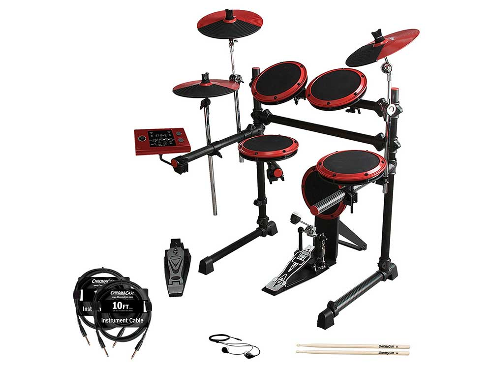 ddrum-DD1-with-Cables,-Earbuds-&-Drumsticks